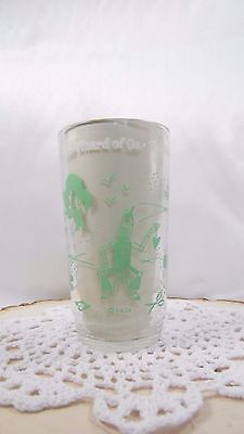 Vintage Collectible 1950's Swift And Co. Wizard Of Oz Tin Woodsman Tumbler/Glass • $0.99