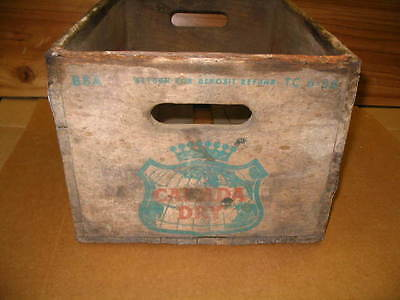 """CANADA DRY Wooden Crate Box 16""""x11""""x9"""""""