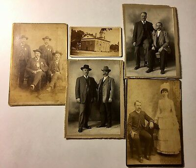 REIDSVILLE, NC ORIGINAL 1800's TO EARLY 1900's POLICE DEPARTMENT PHOTOGRAPHS