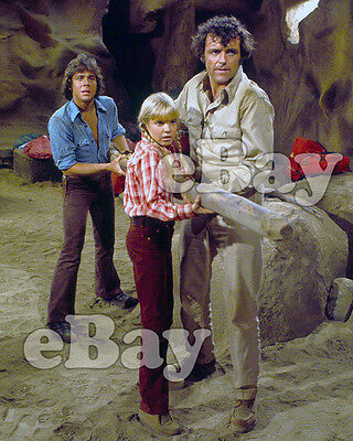 Rare! LAND OF THE LOST 8 X10 Color TV Photo SID & MARTY KROFFT