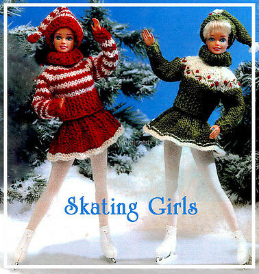 Barbie 11 1/2 Inch Fashion Clothes - Vintage Knitting Pattern