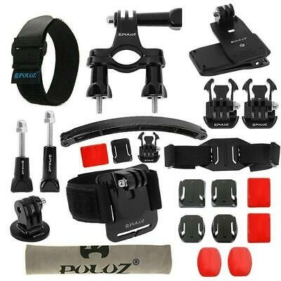 23in1 Action Camera Accessories Kit Metal Holder Mount Set for GoPro Cameras