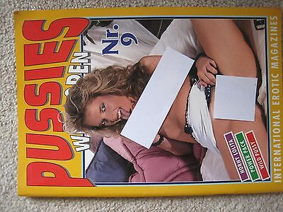 P####es  Wide Open March 1994  Collectors Magazine Published By Silwa Germany