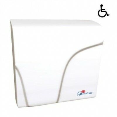 Jd Macdonald Applause Plus Automatic Hand Dryer White - Hand Dryers