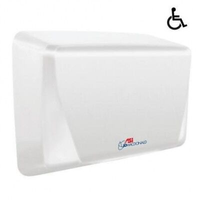 Jd Macdonald Turbo-Slim High Velocity Automatic White Hand Dryer