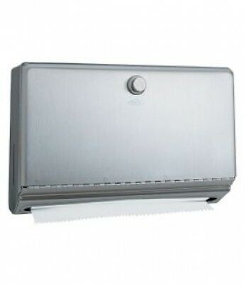 Bobrick - Surface-Mounted Paper Towel Dispenser - Stainless Steel - 27.5x18x10cm