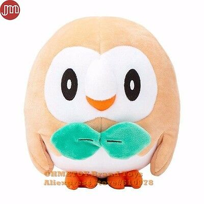 Pokemon Rowlet Soft Plush Toy Stuffed Doll 16cm/6.5""