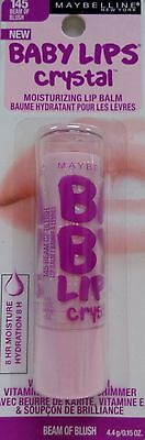 Maybelline Baby Lips Crystal Moisturing Lip Balm - Beam Of Blush (145)