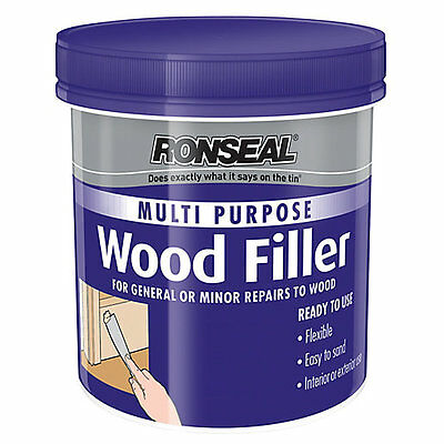 Ronseal Multi Purpose Woodfiller -  Ready to Use Wood Filler 250g, 465g, 930g