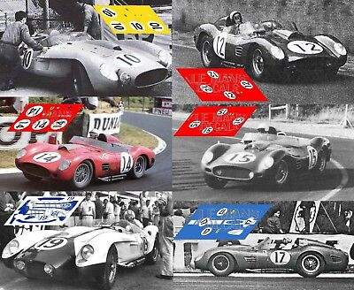 Calcas Ferrari 212 Export Le Mans 1952 33 1:32 1:24 1:43 1:18 decals slot