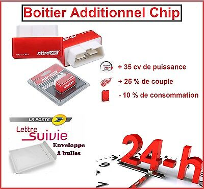 Boitier Additionnel Chip Puce Obd2 Diesel Volkswagen Golf 4 1.9 Tdi 130 Cv