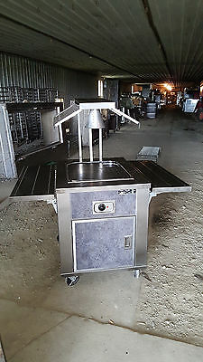 Meat Carving Station Portable Hot Buffet Serving Line Warming Table Food Warmer