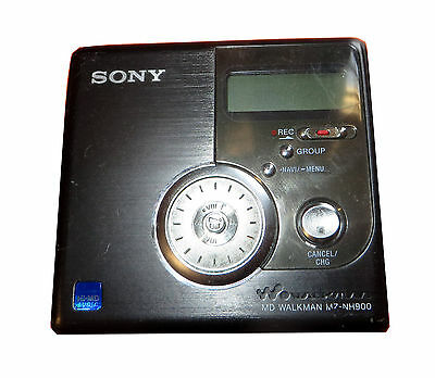 Sony Hi-MD Recording Walkman Portable Minidisc Recorder MZ-NH900 #140
