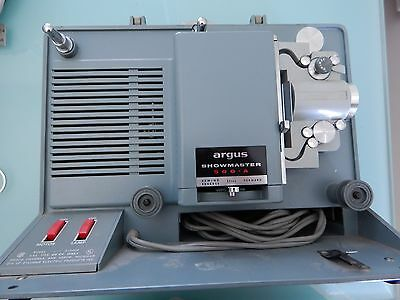 Argus Showmaster S 500A Film 8 MM Movie Projector Vintage