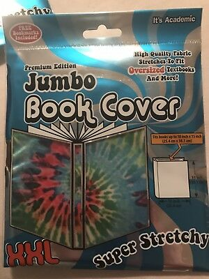 Tie Dyed Xxl Fabric Book Cover