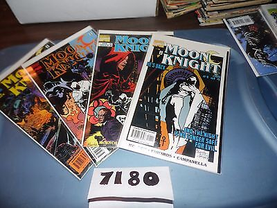 Moon Knight resurrection wars  #1 #2 #3 and #4 complete mini-series!  Sharp!