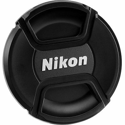 2X NEW Replacement 77mm Front Lens Caps / Cover for Nikon Lenses-ECO-friendly!
