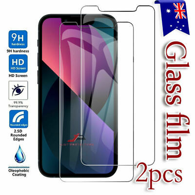 2 X Premium Tempered Glass Screen Protector Film for Apple iPhone 8 / 7 / 7 Plus