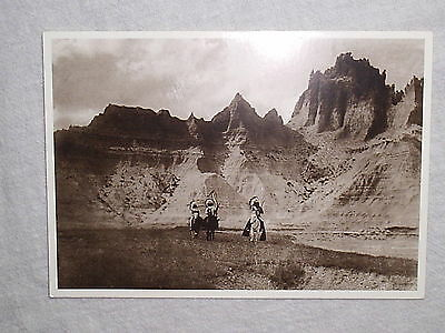 Native American Post Cards (2) Burial Tree ~ In The Badlands ~ New & Unused!