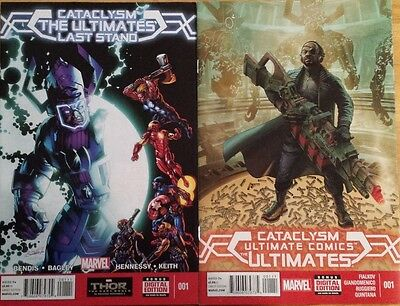 Cataclysm The Ultimates Last Stand (2013) And Ultimate Comics The Ultimates #001