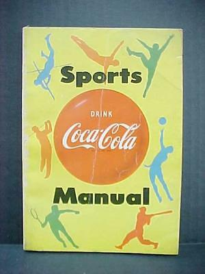 1955 Coca Cola Sports Manual Advertising Booklet Masthead Corp / Don Spencer