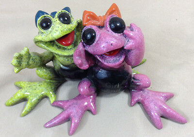 "Kitty's Critters Frogs 2005 Friends, With Flashing Light ""Girl Friends"""