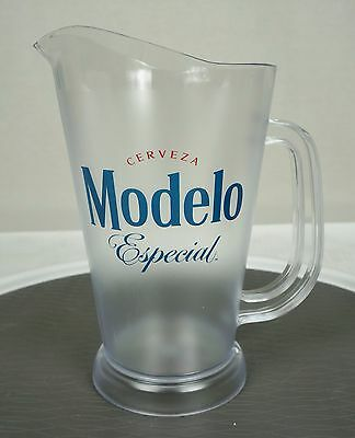 Cerveza Modelo Especial Plastic Pitcher 60 oz New Bar Man-cave Restaurant