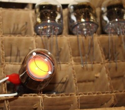 IN-28 IN28 Nixie Tubes Lot of 2 pcs, NEW, NOS, FULL TESTED, USSR RARE