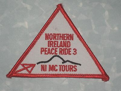 """Northern Ireland Peace Ride 3 Patch - 3 1/2"""" x 2 1/2"""""""