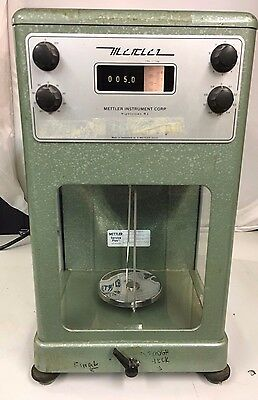 Mettler Industrial Laboratory Scale Type B5 200g Maximum Weight E.METTER