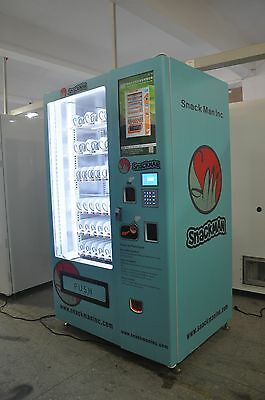 New Snack Man INC Vending machine, unlimited vending capability