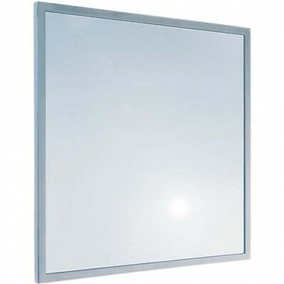 Bradley 782 Glass Mirror With Anti-Theft Stainless Steel Frame - 450 x 600mm