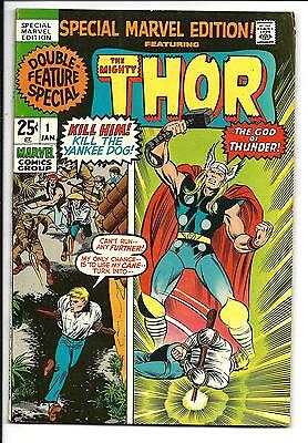SPECIAL MARVEL EDITION # 1 (classic THOR reprints), FN/VF