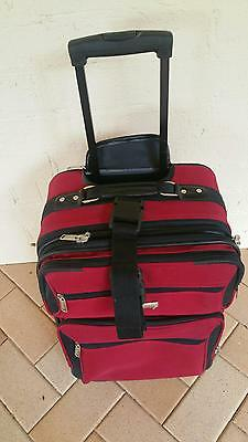 Small Softside Trolley Luggage - 2 Wheels,  Excellent Condition