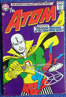 The Atom #13 - Weapon Watches of the Time-Wise Guy! Chronos! Gil Kane!