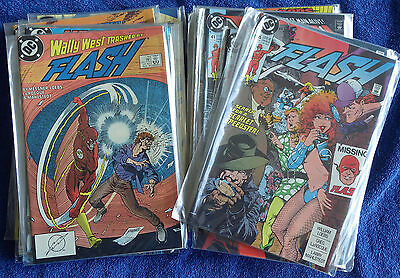 The Flash (1987) #15 to #61, Annuasl #2-#4 - Messner-Loebs issues! High Grade!