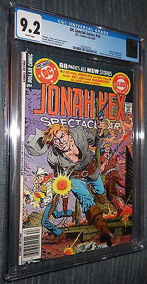 DC Special Series #16 CGC 9.2 W Pages Jonah Hex Spectacular Death of Jonah Hex!
