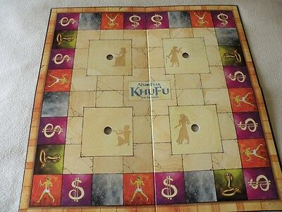 Atmosfear Khufu the Mummy DVD Board Game - Game Board Replacement Part