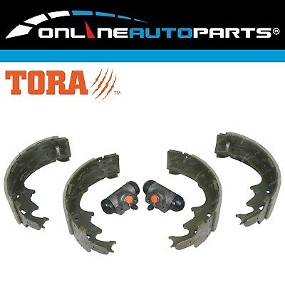 4 Rear Brake Shoes + 2 Wheel Cylinders fit Jeep Cherokee XJ 1994 to 2001