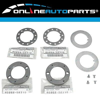 Front Hub Nut Upgrade Kit suits Patrol GQ Y60 GR Y61 GU Safari Ford Maverick