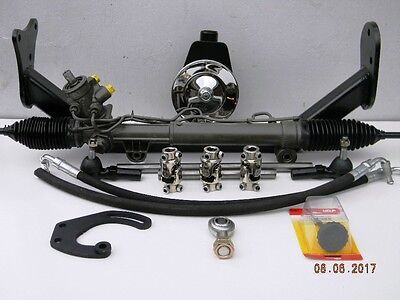 55 56 57 Chevy Belair Rack and Pinion Power Steering Conversion