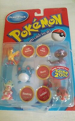 Pokemon 2000 The Movie Battle Figures! Collectible Poke-Pack! Brand New