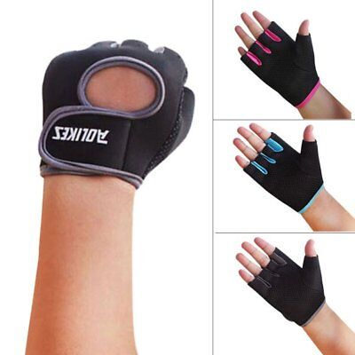 Men Womens Fitness Exercise Workout Weight Lifting Sport Gloves Gym Training Hot