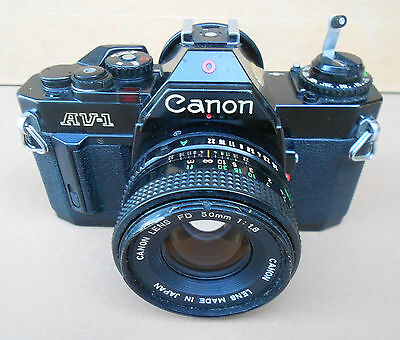 canon   A  V  1  F D  50mm 1 1.8