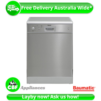 Baumatic BMD14S 60cm 600mm Dishwasher FreeStanding 14 Place Europe Made 5 Wash