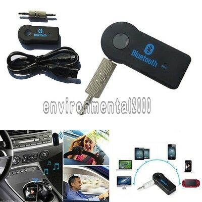 A2DP Auto Bluetooth 3.0 Wireless AUX Empfänger Adapter Dongle Musik Audio Stereo