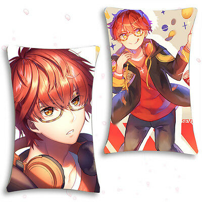 Game Mystic Messenger 707 Hugging Body Pillow Case Cover 35*55cm#RS-H23