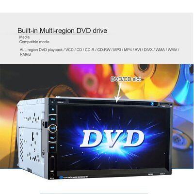 """Bluetooth 7"""" 2DIN COCHE DVD Pantalla táctil Reproductor Android Player XC"""