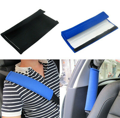 2x Car Seat Belt Safety Cover Soft Shoulder Cushion pad Strap Harness Child Baby