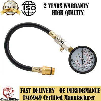 Brand New 300 Psi Flex-Drive Compression Tester Check Pressure Psi Tester Gauge